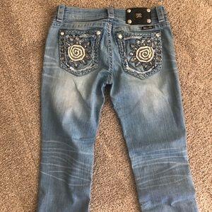 Miss Me Capri jeans.
